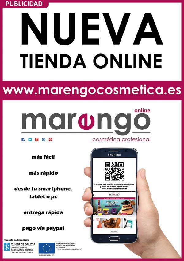 MARENGO COSMETICA PROFESIONAL - NUEVA TIENDA ONLINE DE PRODUCTOS DE PELUQUERIA Y ESTÉTICA