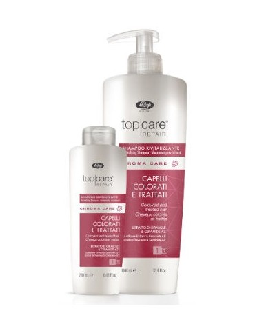 LISAP MILANO TOP CARE REPAIR CHAMPÚ REVITALIZANTE CHROMA CARE