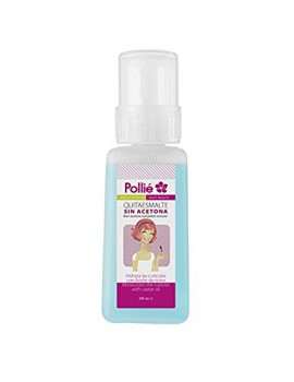 POLLIE QUITAESMALTE SIN ACETONA 240ML