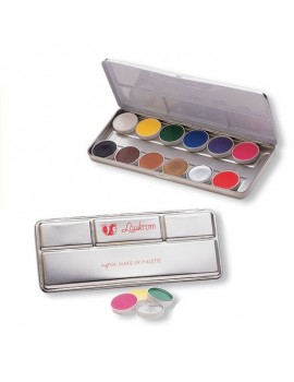 LAUKROM AQUA MAKE UP PALETA 12 COLORES