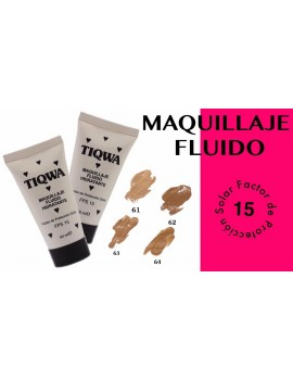 TIQWA MAQUILLAJE FLUIDO