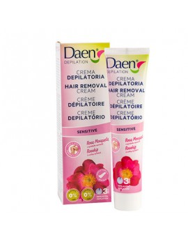 DAEN CREMA DEPILATORIA SENSITIVE 125 ML
