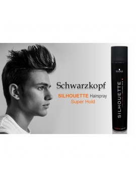 SILHOUETTE HAIRSPRAY  SUPER HOLD 500ML