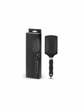 CORIOLISS CEPILLO THE PADDLE BRUSH BLACK